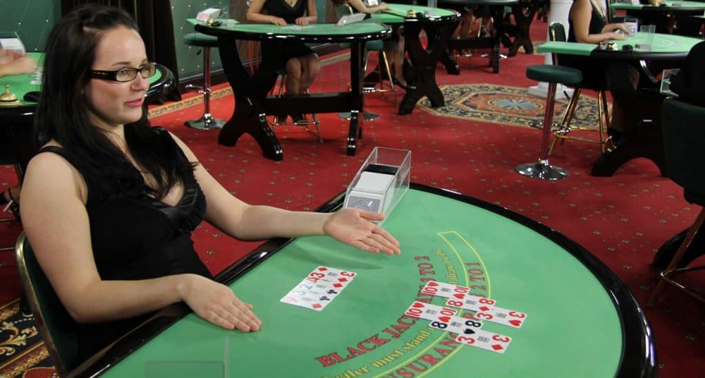 Blackjack online spelen in een live casino